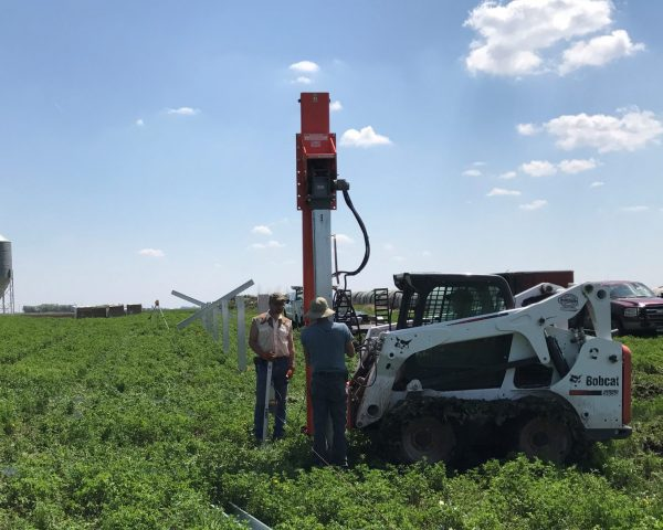 Driving Solar Piles - 240 Series